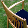 085sakura chair/back view